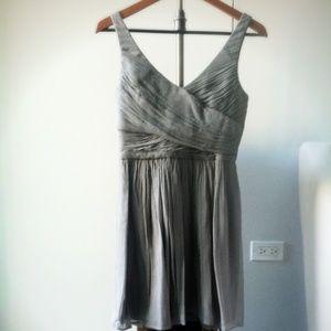 J Crew Silk Chiffon Dress